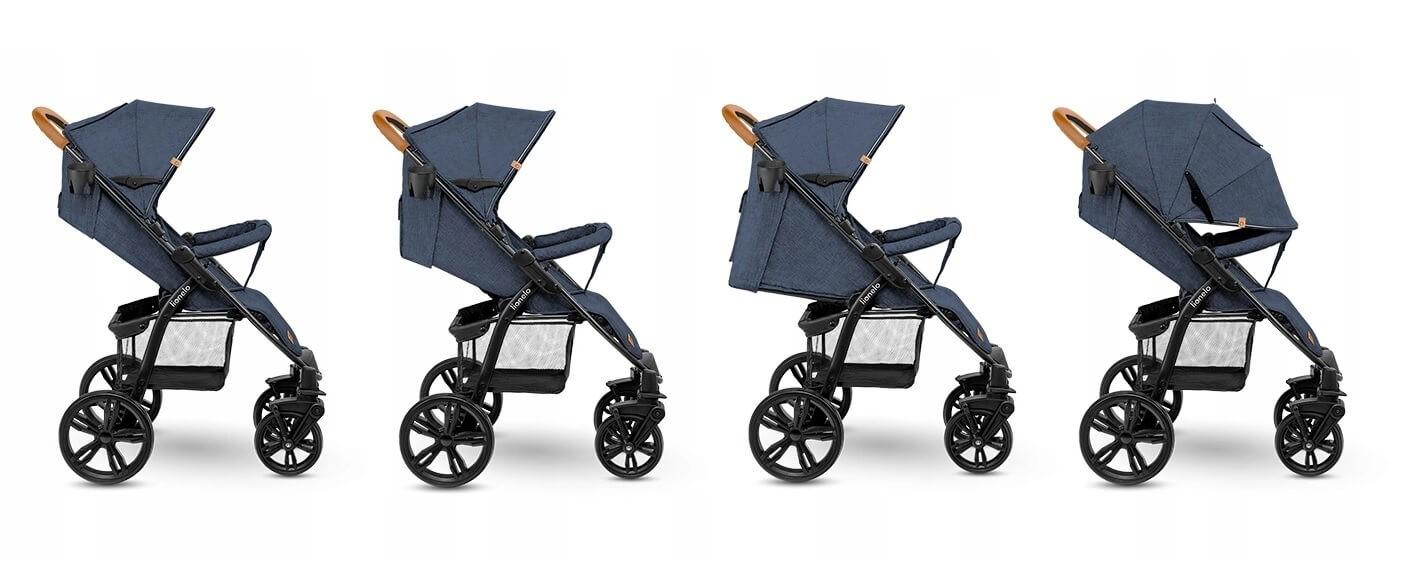 wózek spacerowy rozkładany Lionelo Annet Blue Denim
