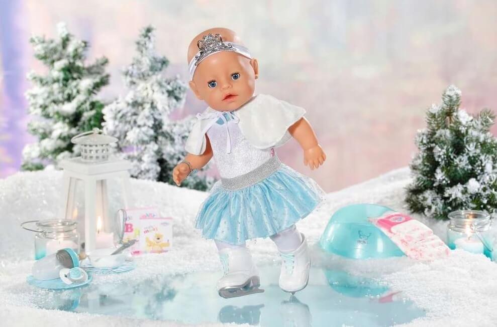 Lalka Baby Born na Lodowisku