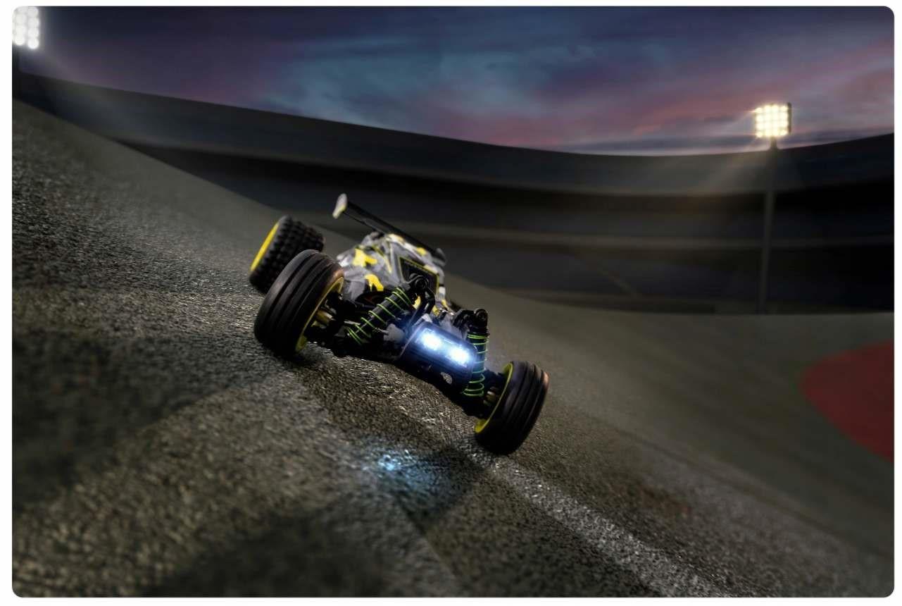 Auto RC ze światłami