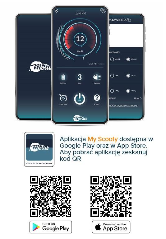 aplikacja My Scooty do hulajnogi