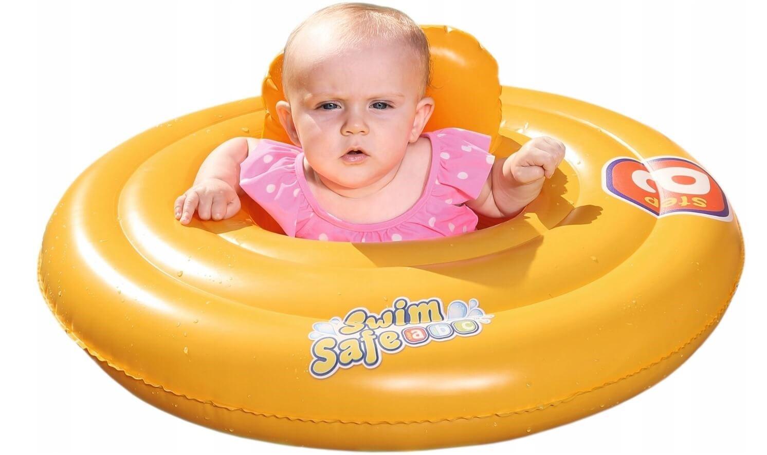 kółko do basenu dla małego dziecka
